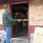 Struan Measuring the Front Door