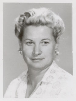 Lois Schneider in 1961